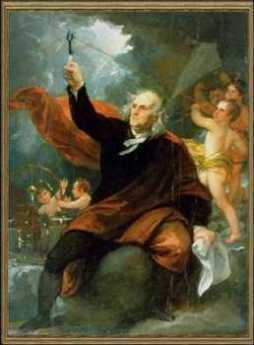 {Benjamin Franklin Discovers Electricity}