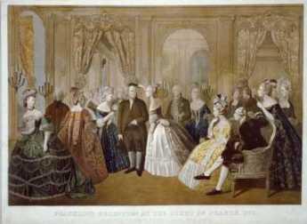 {Benjamin Franklin French Court}