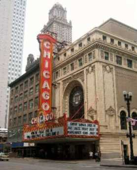 {The Chicago Theater}
