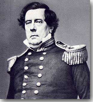 {Commodore Matthew Perry}