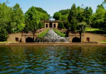 {Meridian Hill Park in Washington DC}