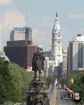 {Center City Philadelphia}