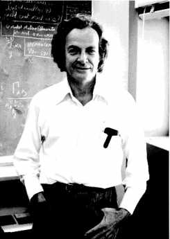 {Richard Feynman of Cal Tech}