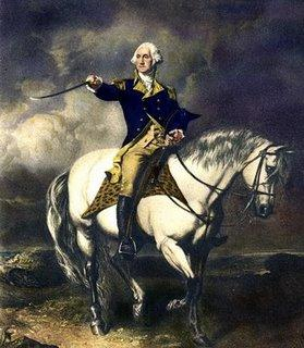 {George Washington on a Horse}