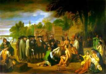 william penn and indians