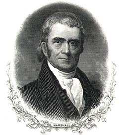 {Chief Justice, John Marshall,}