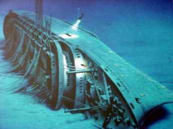 {The Andrea Doria Wreacked}
