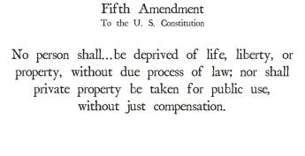 {5th Amendment}