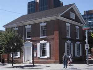 {Free Quaker Meeting House}