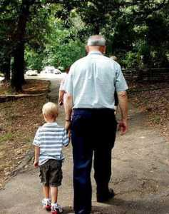 {Grandpa and Grandson}