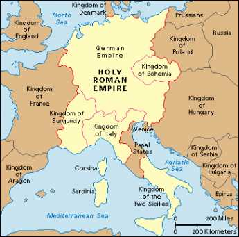 {The Holy Roman Empire}